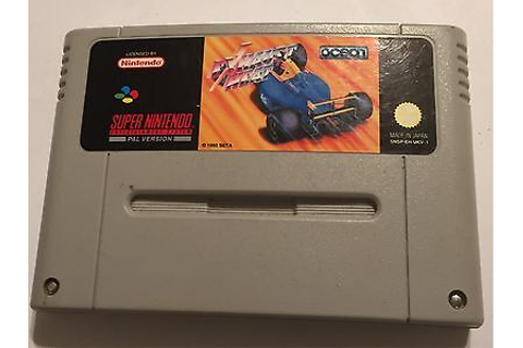 EXHAUST HEAT Snes super nintendo boxed with instructions ...