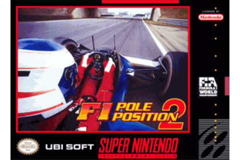 F1 Pole Position 2 ROM - SNES Download - Emulator Games