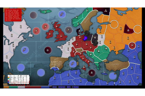 Risk: Lux Delux Review and Gameplay Major Command Risk Online