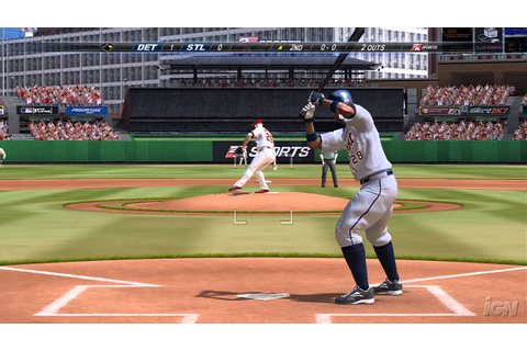 Major League Baseball 2K7 PlayStation 3 Gameplay - Tigers ...