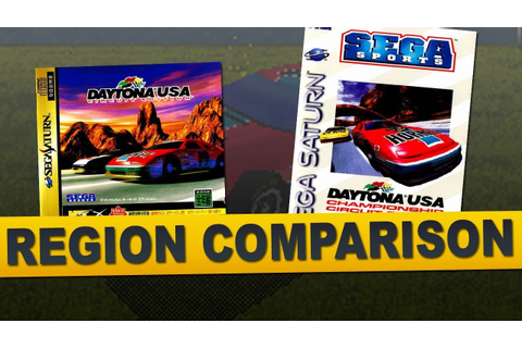 Daytona USA: Championship Circuit Edition for Sega Saturn ...