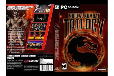Mortal Kombat Trilogy PC CD-Rom Review Unboxing - YouTube