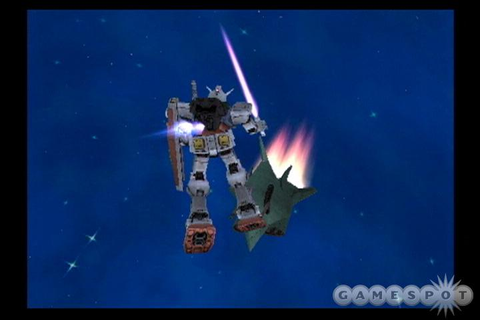 Mobile Suit Gundam: Encounters in Space [PS2 ...