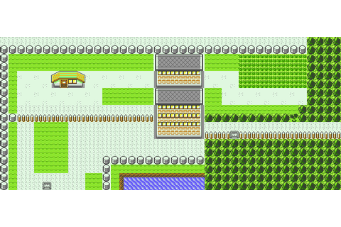 Route 16 in Pokemon Yellow for GBC by CK47 on DeviantArt