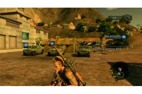 Gameplay Mercenaries 2 : L'Enfer des Favelas : Renforts ...