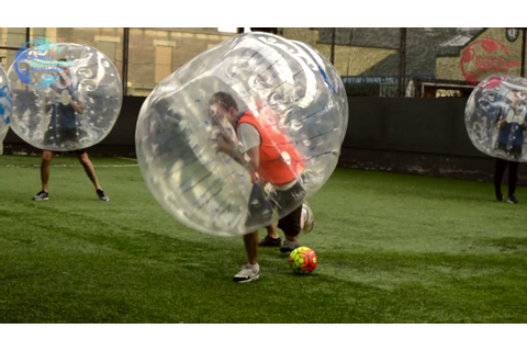 Bubble Soccer Scotland - Our Bubble Games
