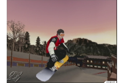 Shaun Palmer s Pro Snowboarder PS2 ISO Download
