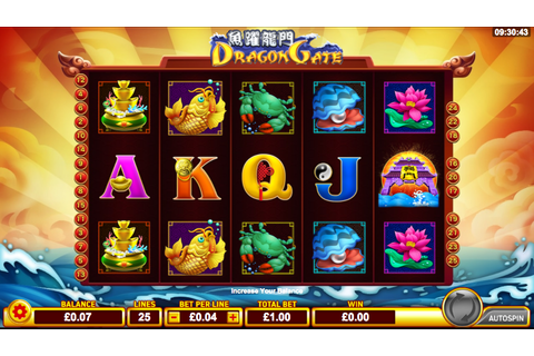 Dragon Gate Slots Review - Online Slots Guru