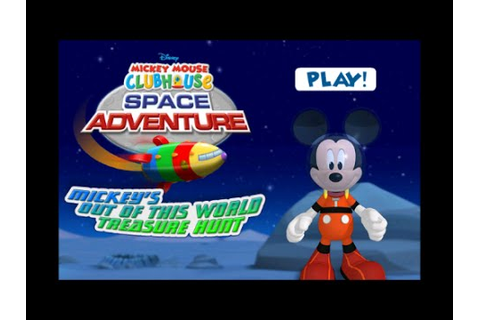 Mickey Mouse Clubhouse Space Adventure Game - Mickey's Out ...