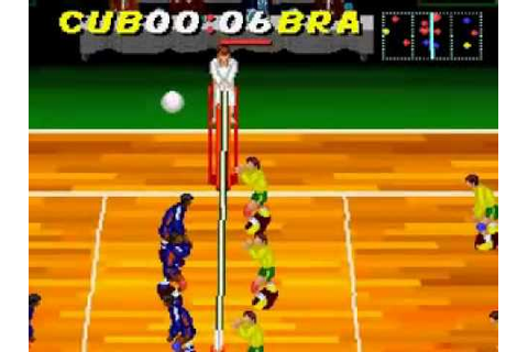 Dig & Spike Volleyball - (SNES-Super Nintendo ...