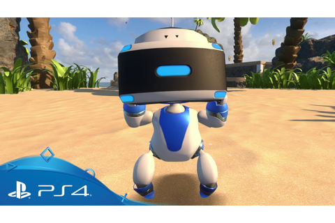 Astro Bot Rescue Mission | Live The Game | PSVR - YouTube