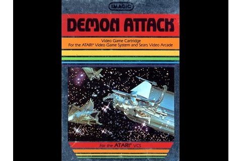 Demon Attack (Atari 2600) - Game Play - YouTube