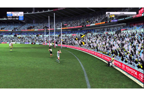 The Greatest Goal in AFL Live History (Videogame) - YouTube