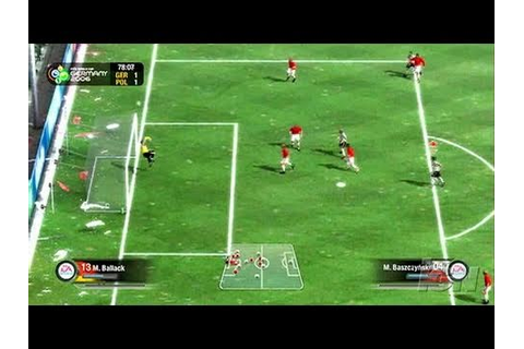2006 FIFA World Cup PC Games Gameplay - Germany vs. Poland ...