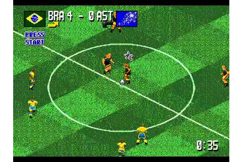 Head on Soccer {Fever Pitch Soccer} - (Mega Drive) World ...