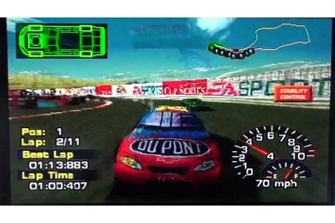 NASCAR Thunder 2004 [PS1] - Race 17/41 - Dodge/Save Mart ...