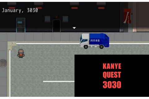 'Kanye Quest 3030′ Is The Best New 8-Bit Video Game On The ...