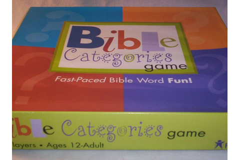 Bible Categories Game Age 12+ and 100 Piece Puzzle God ...