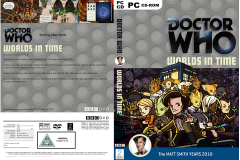 My Doctor Who Covers!: The Mazes of Time and Worlds In Time