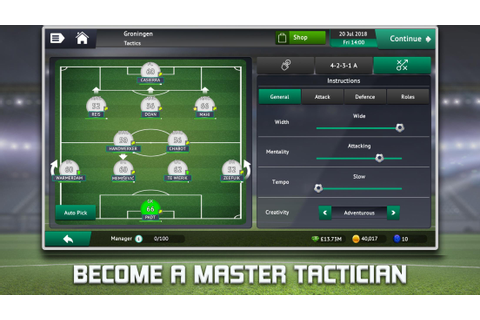 Android 用の Soccer Manager 2019 - Top Football Management ...