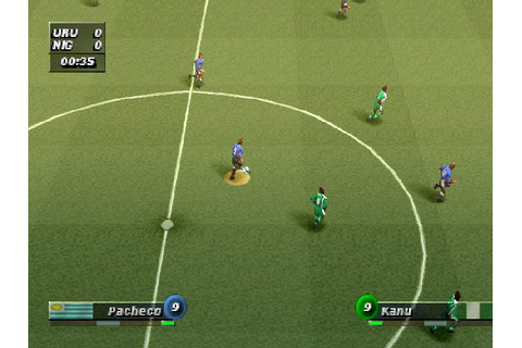 Ronaldo V-Football (2000) by Power and Magic PS game