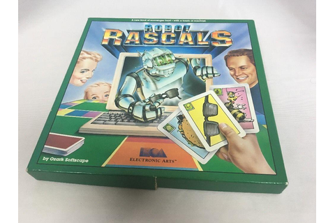 Commodore 64 & 128 Diskette & Boxed Games Cards ROBOT ...