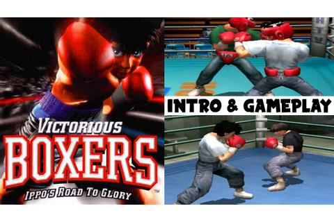 Victorious Boxers: Ippos Road to Glory Intro & Gameplay ...