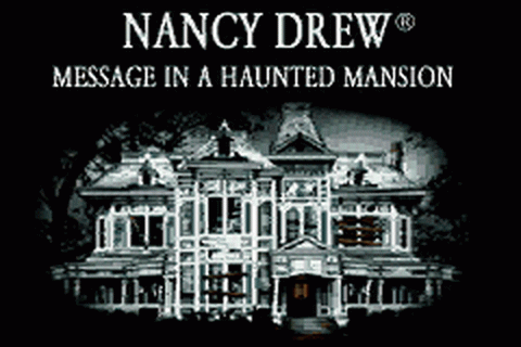 Play Nancy Drew - Message in a Haunted Mansion Nintendo ...