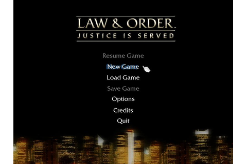 Games by Hiryuu: PC - Law & Order 3: Justice is Served