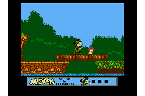 Mickey's Safari in Letterland Download Game | GameFabrique