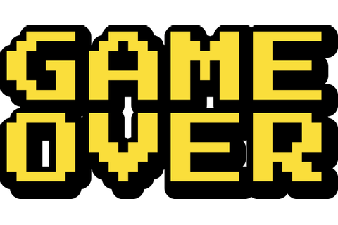 Free Online Game Games Game Over Vector For Design_sticker ...