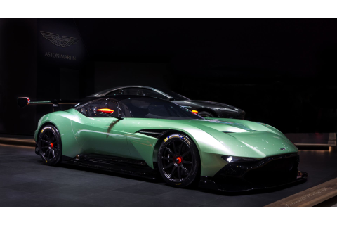Wallpaper Aston Martin Vulcan, coupe, track only, green ...