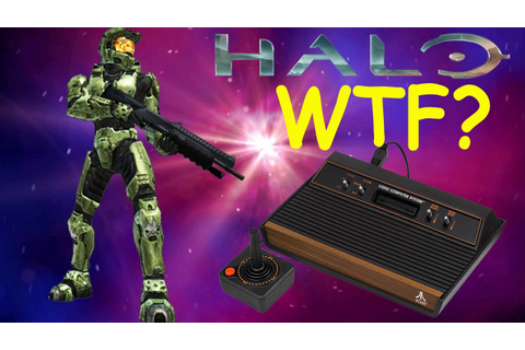 Halo on the Atari 2600? WTF ( Review & Gameplay ) - YouTube