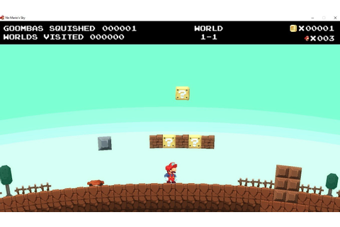 No Mario's Sky - Download for PC Free