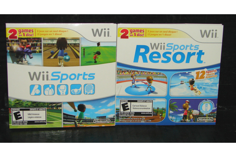 Wii sports resort - deals on 1001 Blocks
