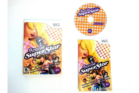 Boogie SuperStar game for Wii (Complete) | The Game Guy