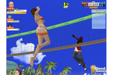 Beach Volleyball Online Enters Closed Beta