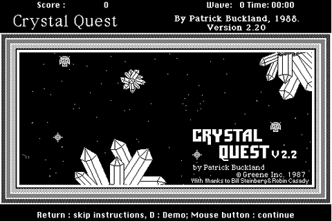 Download Crystal Quest - My Abandonware