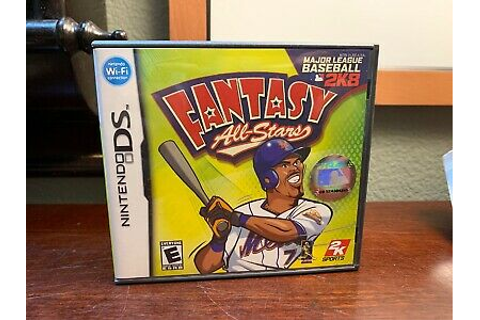 Major League Baseball 2K8 Fantasy All-Stars - Nintendo DS ...
