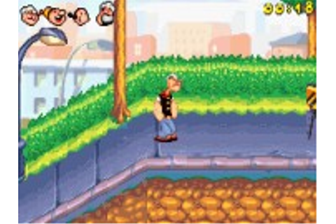 Popeye : Rush for Spinach - Game Boy Advance Game
