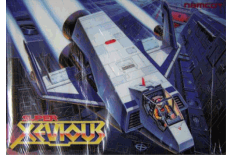 Super Xevious — StrategyWiki, the video game walkthrough ...