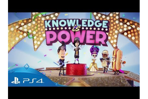 Knowledge is Power | PS4 Games | PlayStation