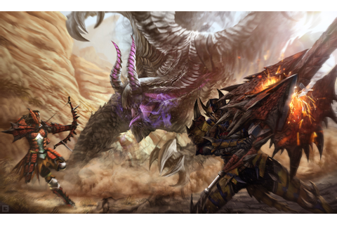 Video Game Monster Hunter 4 Ultimate Wallpaper | Monster ...