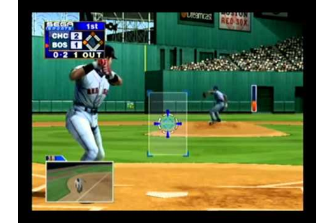 World Series Baseball 2K1 Cubs vs Red Sox Dreamcast Part 1 ...
