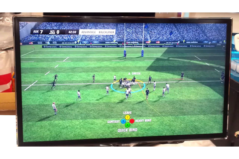 Rugby Challenge 2 Game Play #2 - YouTube