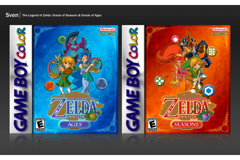 The Legend of Zelda: Oracle of Seasons/Ages Game Boy Color ...