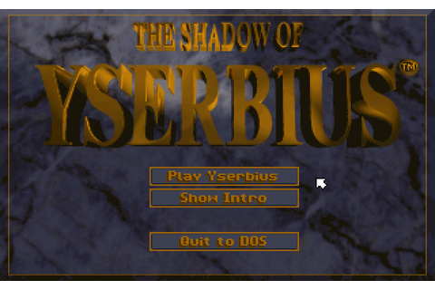 The Shadow Of Yserbius (1993) by Sierra On-Line MS-DOS game