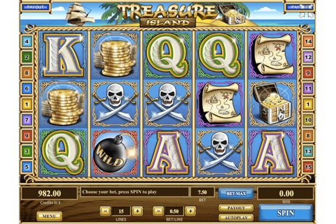 Treasure Island Slot Machine Online ᐈ Tom Horn Casino Slots