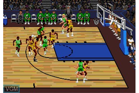 Lakers vs Celtics and the NBA Playoffs for Sega Megadrive ...
