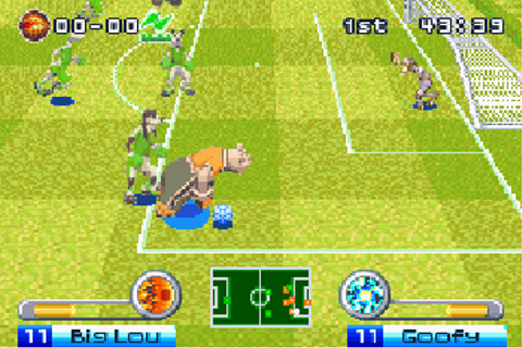 Disney sports: Football (Soccer) - Symbian game. Disney ...